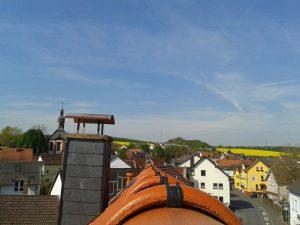 Blick vom Dach Schwalbacher Str. 12 Richtung Wörsdorf