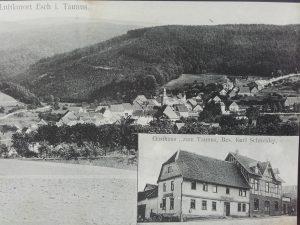 """Ortsansicht / Gasthaus """"Zum Taunus"""""""