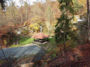 Der Grillplatz im Herbst 2015