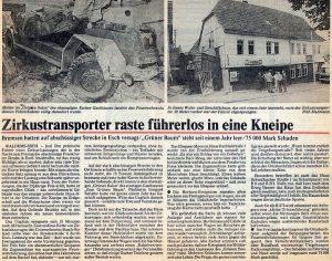 Bericht vom Unfall 18.09.1987
