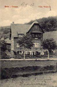 """Sommerfrische """"Villa Waldeck"""" an der Emstalstraße, Foto R. Wick"""